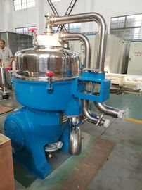 Κίνα Disc Type Industrial Oil Water Separator / Industrial Continuous Centrifuge εργοστάσιο